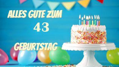 Alles Gute Zum 43 Geburtstag 390x220 - Alles Gute Zum 43 Geburtstag