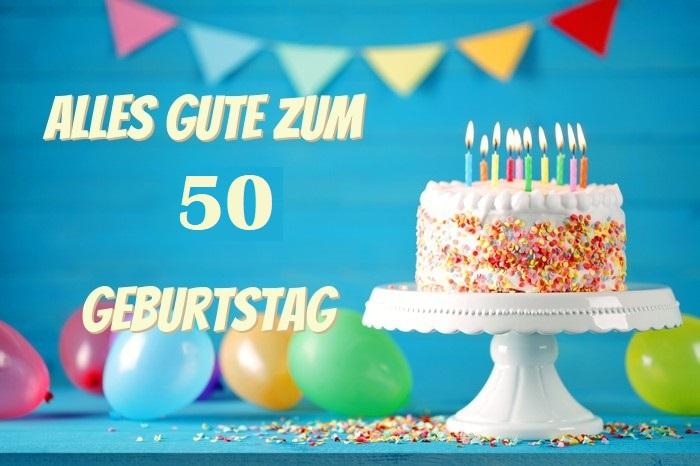 Alles Gute Zum 50. Geburtstag