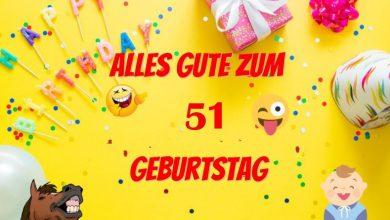 Alles Gute Zum 51 Geburtstag  390x220 - Alles Gute Zum 51 Geburtstag