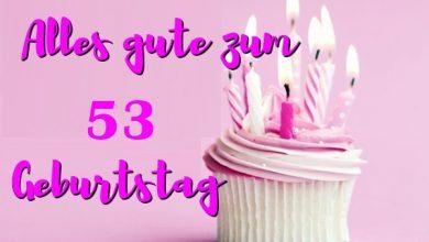 Alles Gute Zum 53 Geburtstag  390x220 - Alles Gute Zum 53 Geburtstag