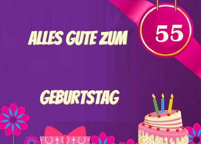Spruche Kissen Zum 55 Geburtstag Geschenk Idee Dekokissen 55