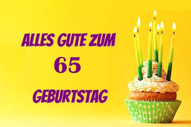 Gluckwunsch Zum 65 Geburtstag Geburtstagsspruche Fur Den Chef