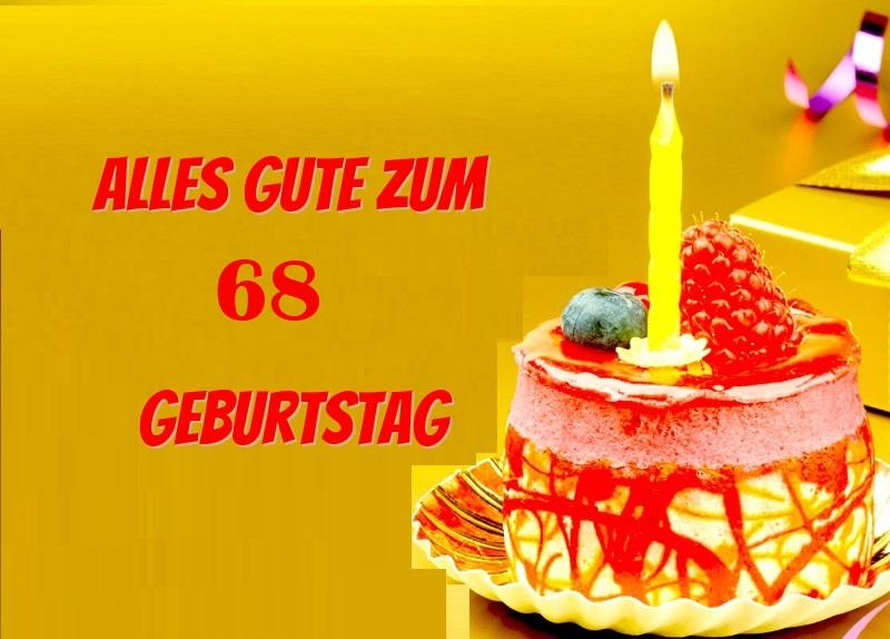 Alles Gute Zum 68 Geburtstag  - Alles Gute Zum 68 Geburtstag