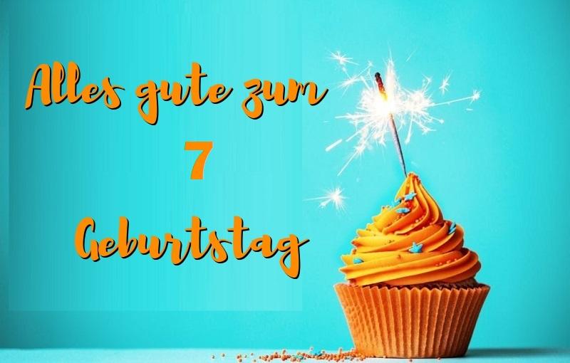 Gedicht Zum 7. Geburtstag