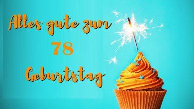 Alles Gute Zum 78 Geburtstag  390x220 - Alles Gute Zum 78 Geburtstag