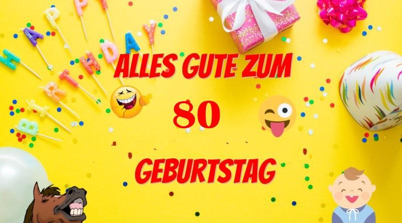 Ansprache Zum 80 Geburtstag