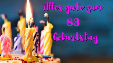 Alles Gute Zum 83 Geburtstag  390x220 - Alles Gute Zum 83 Geburtstag
