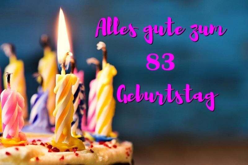 Alles Gute Zum 83 Geburtstag  - Alles Gute Zum 83 Geburtstag