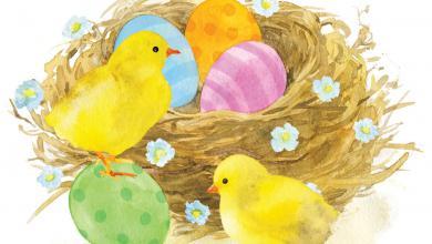 Fröhliche Ostergrüße 390x220 - Fröhliche Ostergrüße