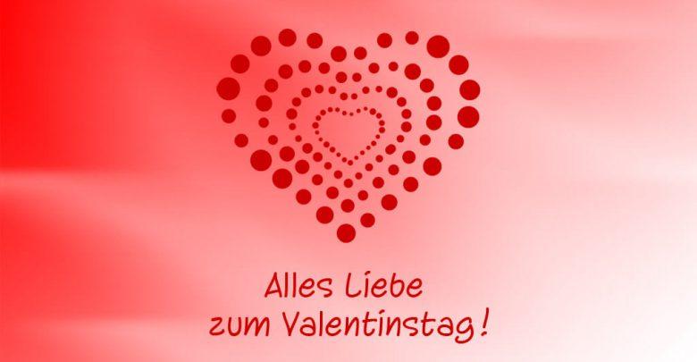 Valentinstag Schatz
