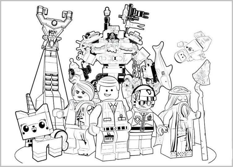 lego movie 2 ausmalbilder - lego movie 2 ausmalbilder