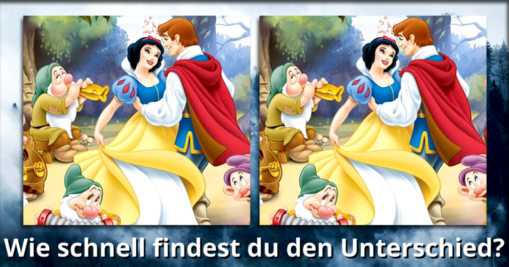 unnamed 1024x538 - Cinderella - Wie schnell entdeckst du den Unterschied?