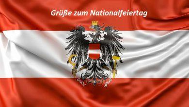 Grüße zum Nationalfeiertag