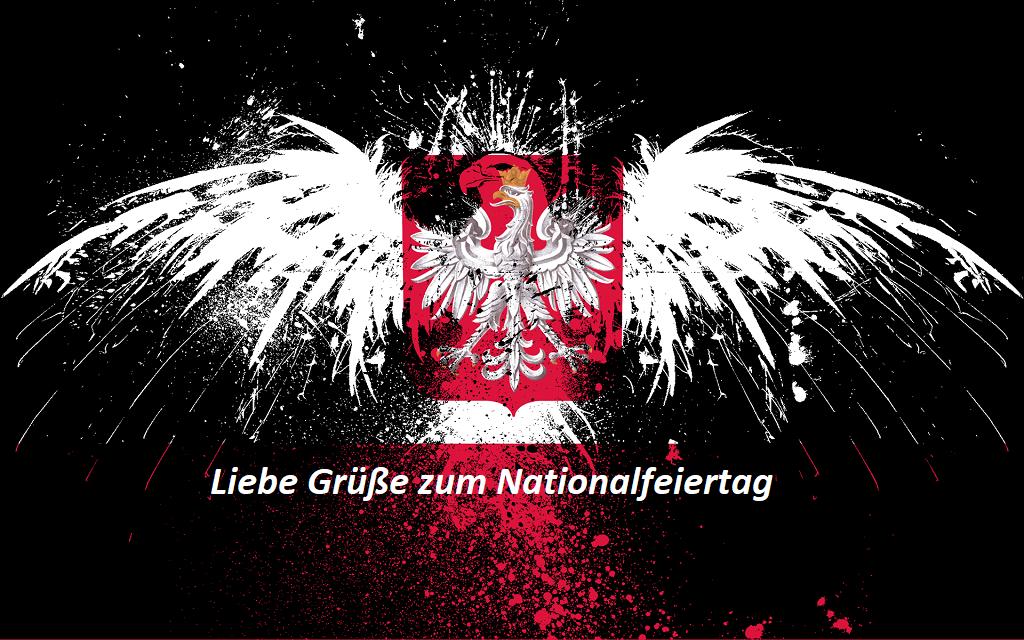 Liebe Grüße zum Nationalfeiertag - Liebe Grüße zum Nationalfeiertag
