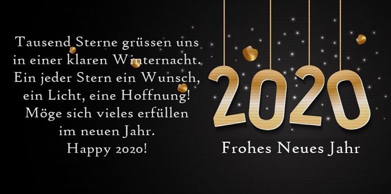 Glückwunschkarte Silvester 2020 - Glückwunschkarte Silvester 2020
