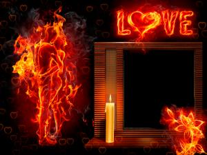 Liebe wie Feuer Fotorahmen 300x225 - Liebe wie Feuer Fotorahmen