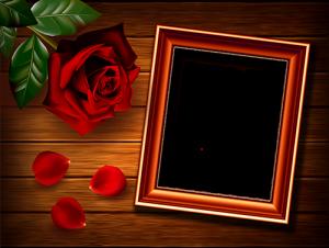Rahmen für Foto Rose auf dem Tisch Liebesrahmen 300x226 - Rahmen für Foto Rose auf dem Tisch Liebesrahmen