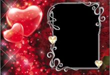 Romantischer Fotorahmen 220x150 - Romantischer Fotorahmen