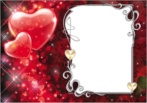Romantischer Fotorahmen - Romantischer Fotorahmen