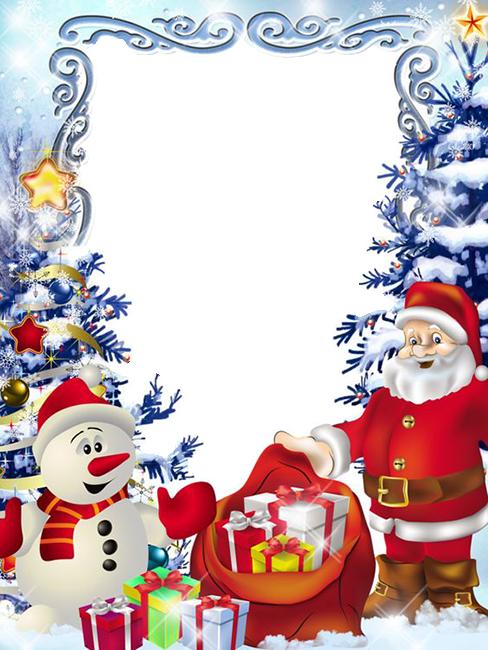 feine Santa Klausel Online Frame - feine Santa Klausel Online-Frame