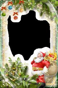 hubsche Santa Klausel Rahmenkarte 200x300 - hübsche Santa Klausel Rahmenkarte