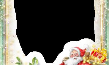 hubsche Santa Klausel Rahmenkarte 367x220 - hübsche Santa Klausel Rahmenkarte