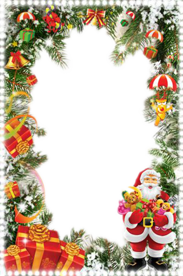 schone Santa Klausel Fotorahmen - schöne Santa Klausel Fotorahmen