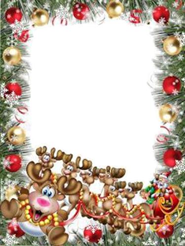 schoner Santa Klausel Rahmen - schöner Santa Klausel Rahmen