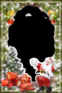 schoner Weihnachtsmann Fotorahmen 200x300 - schöner Weihnachtsmann Fotorahmen