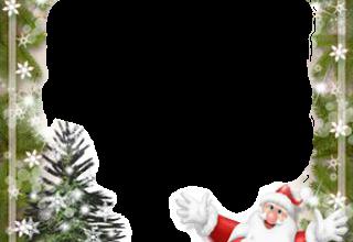 schoner Weihnachtsmann Fotorahmen 320x220 - schöner Weihnachtsmann Fotorahmen